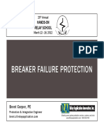Breaker Failure Protection - HRS 2012 - Brent Carper -- Presentation Slides