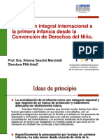 Proteccion Integral Internacional a La Primera Infancia Desde La Convencion de Derechos Del Nino Ximena Gauche