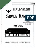 Kenwood Kr-2120 Sm