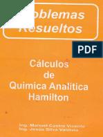 PROBLEMAS RESUELTOS Calculos de Quimica Analitica Hamilton