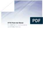 DT700 Phone User Guide