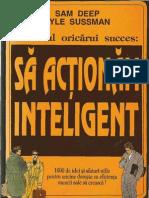 Secretul Oricarui Succes - Sa Actionam Inteligent