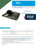 Udoo x86 Manual