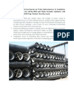 Ductile Iron Pipe Market 2017,Ductile Iron Pipes Manufacturing India,Manufacturers PVC-O Pipes in India-Ken Research