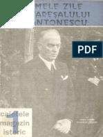 Ultimele Zile Ale Maresalului Antonescu