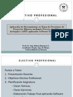Planificación y Presentación Asignatura