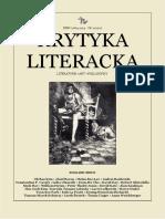 Krytyka Literacka 2 2017 English Issue
