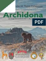 Dosier Exposición Nacional Razas Españolas Archidona 2017