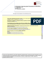 Lignin Valorization-Improving Lignin Processing in Biorefinary