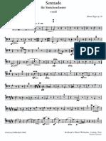 Elgar Serenade Contrabasso