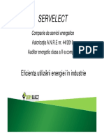 Eficienta Utilizarii Energiei in Industrie_Servelect
