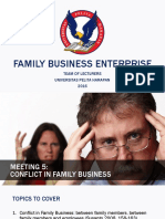 PPT 5 Conflict in Family Business