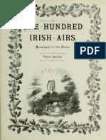 One Hundred Irish Airs Third Series