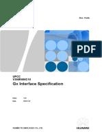 UPCC V300R006C10 Gx Interface Specification