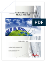 Global Distributed Energy Generation Market