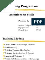 126882183 Assertive Communication