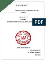 Structural Design Sessional, Swaraj Mandal,Roll-001410601032