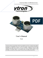 HC SR04Users Manual
