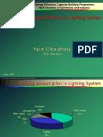 EnergyEfficiencyinLightingSystemYatinChoudharyTERINewDelhi