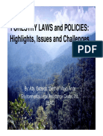 4th Session - Forestry Laws, Challenges (Atty
