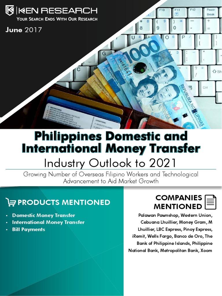 Money Transfer Agencies Philippines,Remittance Flow Philippines ...