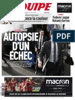 L'Équipe Du Mardi 16 Mai 2017