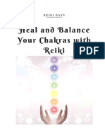 Heal and Balance Your Chakras With Reiki