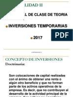 Inversiones Temporarias 2017