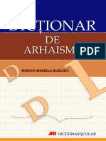Preview Dictionar de Arhaisme-Monica-Mihaela Busuioc