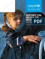 Report on Regular Resources 2016