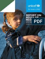 Report on Regular Resources 2016