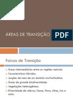 Áreas de Transição
