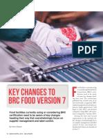 Key Changes in BRC Food v-7