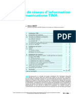 TE 7 380 Architecture de Réseau d'Information Des Télécommunications TINA