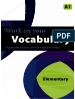 Work on Your Vocabulary Elementary A1 (ORG)