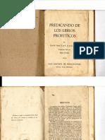 Kyle M. Yates - Predicando de Los Libros Profeticos; Casa Bautista de Publicaciones 1954