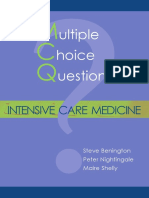 MCQs in Intensive Care Medicine