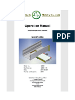Operation Manual Motor Slide Eng