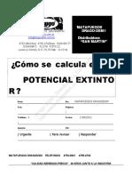 Dragodsm La Esquina Del Estudiante Calculo Potencial Extintor 05 2012