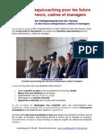 Formation Equicoaching Pour Les Futurs Entrepreneurs, Cadres Et Managers