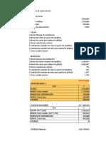 Ejercicio Costeo Directo