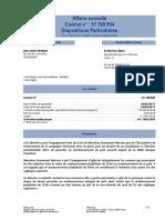 Contrat Assurance Emmanuel Macron Siaci Saint Honoré