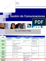 Clase API12 Gestion de Comunicaciones
