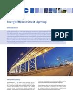 Factsheet Street Lighting