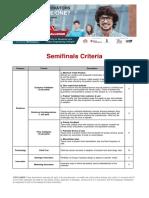 Semifinals Criteria