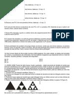 1º Lista de Exercicios de 2º Ano_ Em (Progressão Geometrica)