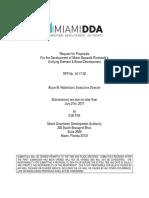 2017 06 07 RFP Miami Baywalk FINAL
