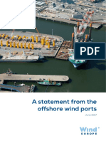 Offshore Wind Ports Statement