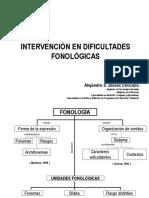 _intervención en Dificultades Fonologicas