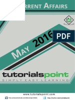 Current Affairs May 2016 PDF Version